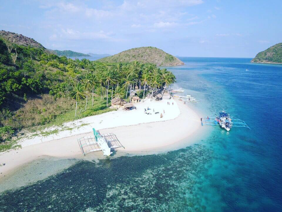 Camp Site of the Ultimate Adventure Tour (Coron to El Nido Expedition)